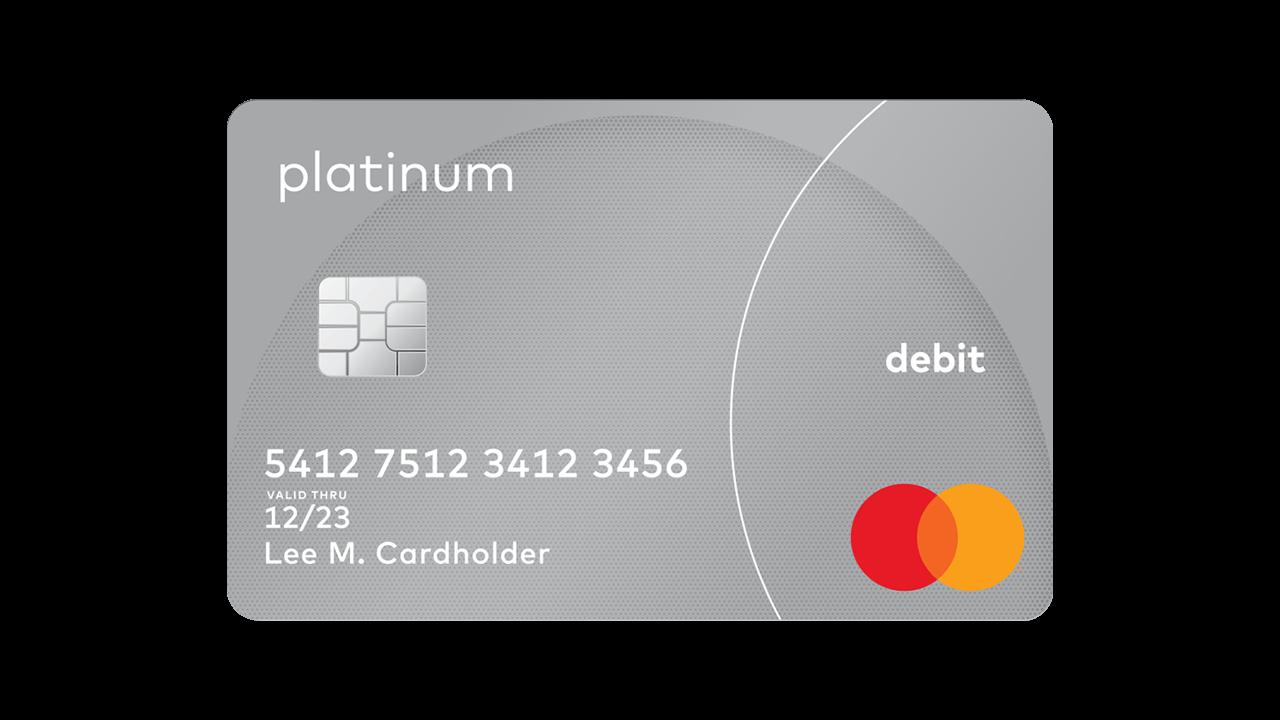 Platinum Debit Card World Debit Mastercard